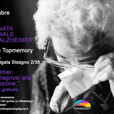"""""""Alzheimer: dalla diagnosi alla prevenzione"""" - Incontro Gratuito"""